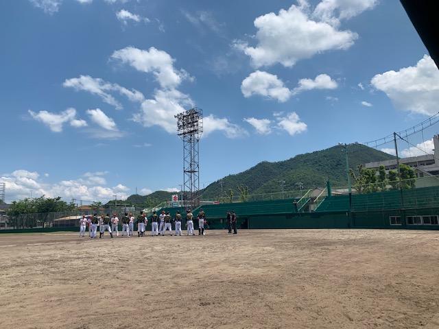 野球観戦(^^)/