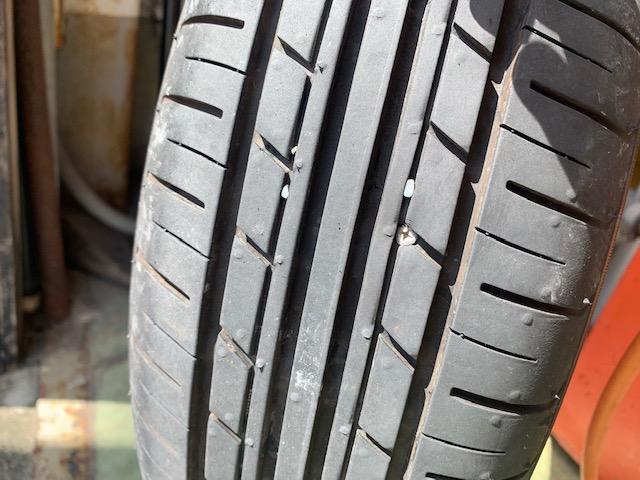 タイヤが危ないよ(>_<)