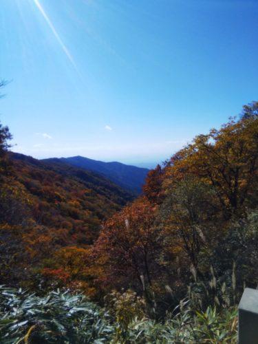 岐阜県から琵琶湖がみえる!