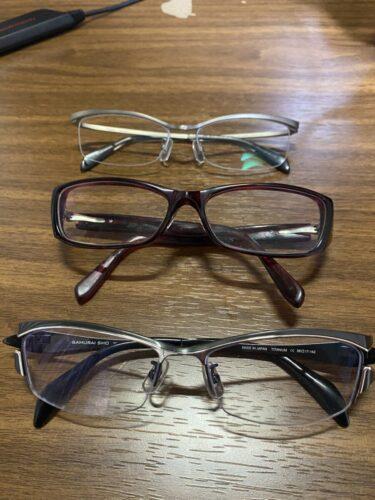 メガネが欲しい…