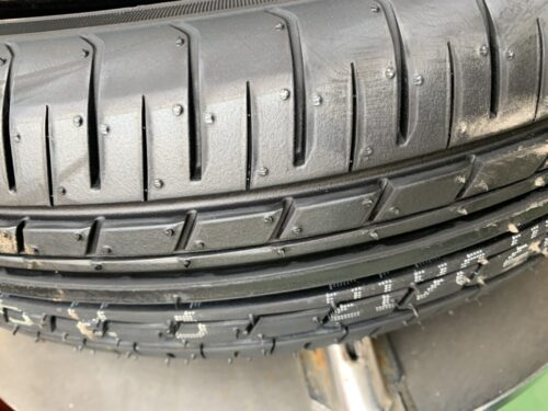 タイヤを新品にしました🤗
