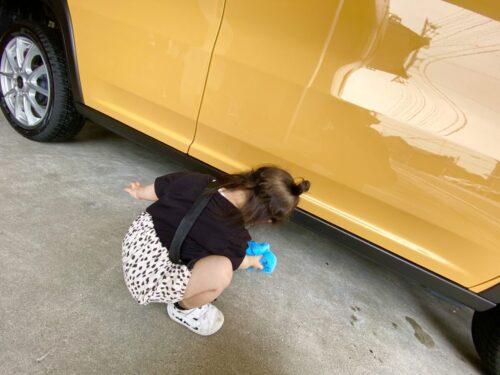 小さい洗車人🌟
