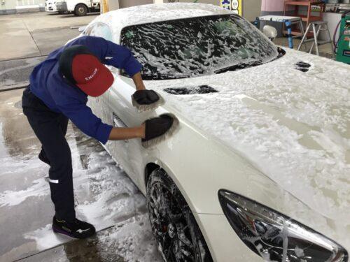 手洗い洗車Cコース(ミネラルオフ)
