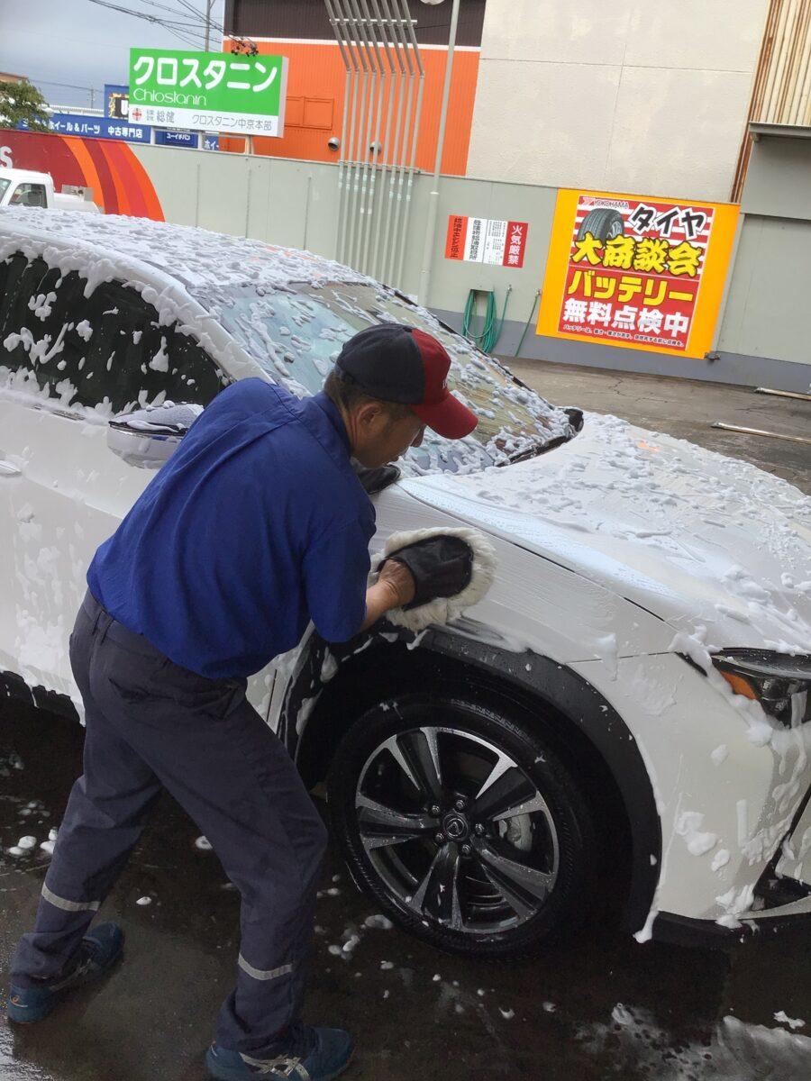 手洗い洗車🌟